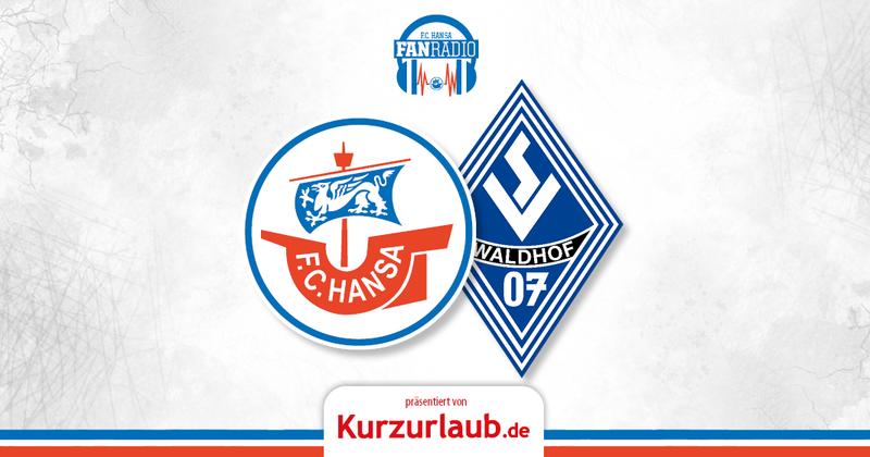 25. Spieltag: Hansa gegen Mannheim