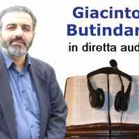 Giacinto Butindaro in diretta audio